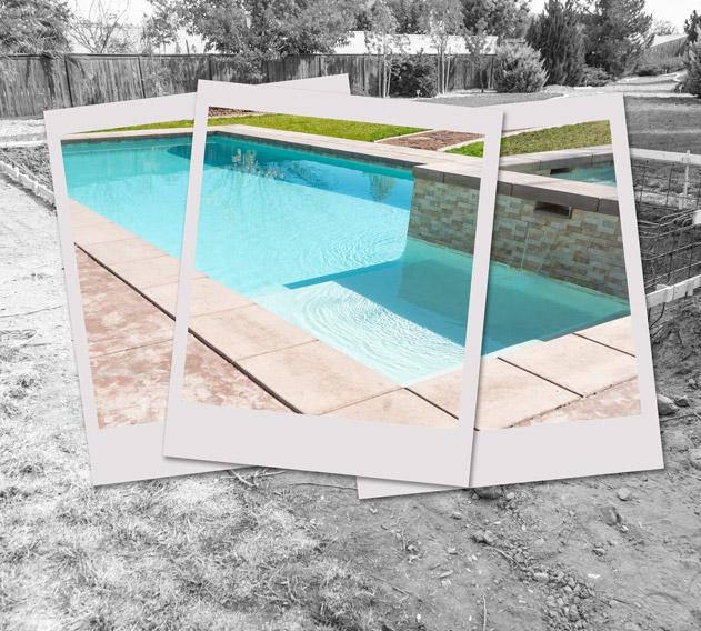 Construction de piscine enterrée près de Podensac