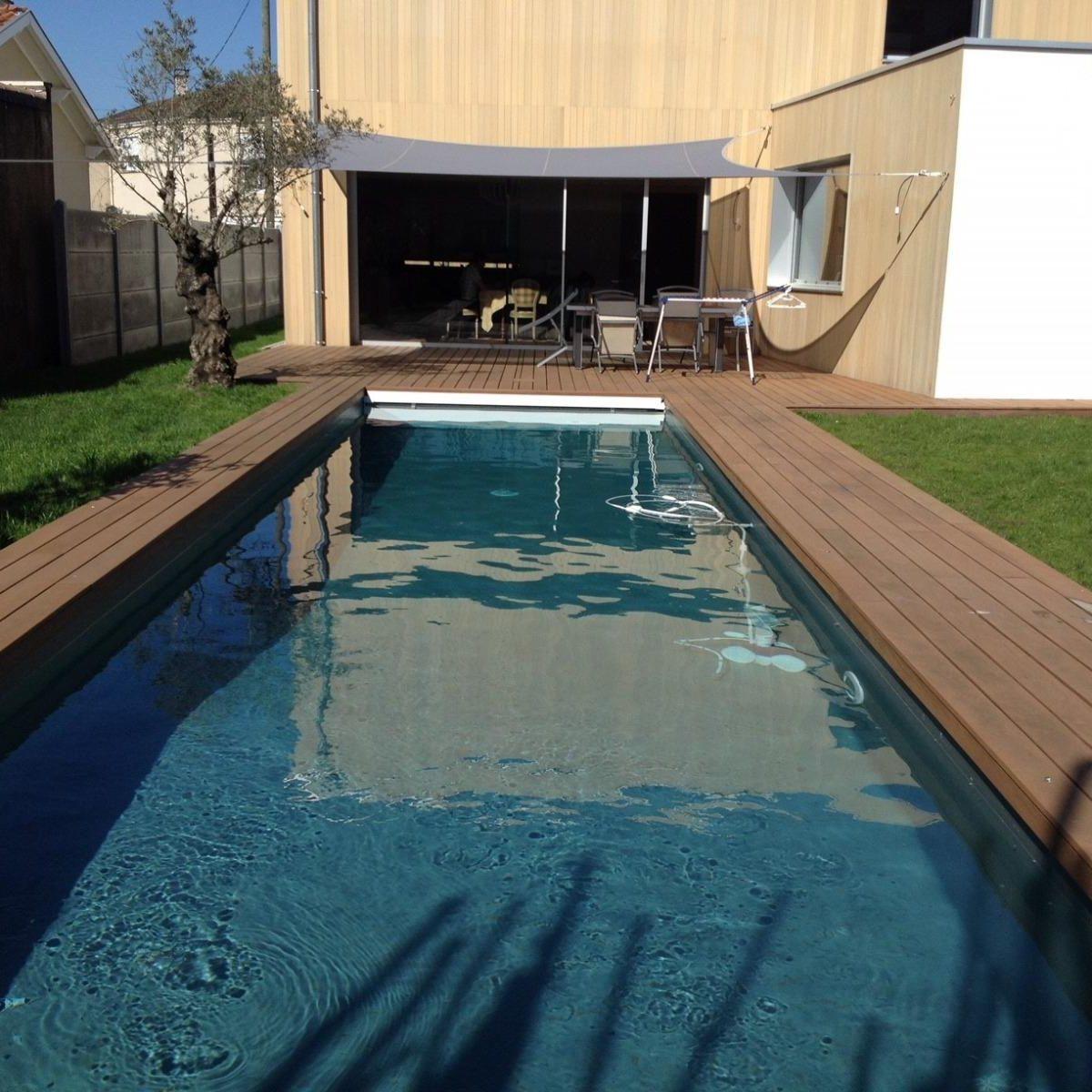 construire une piscine enterrée en béton